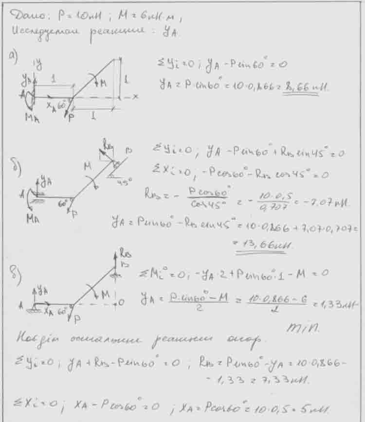 Механика с1 яблонский теоретическая решебник